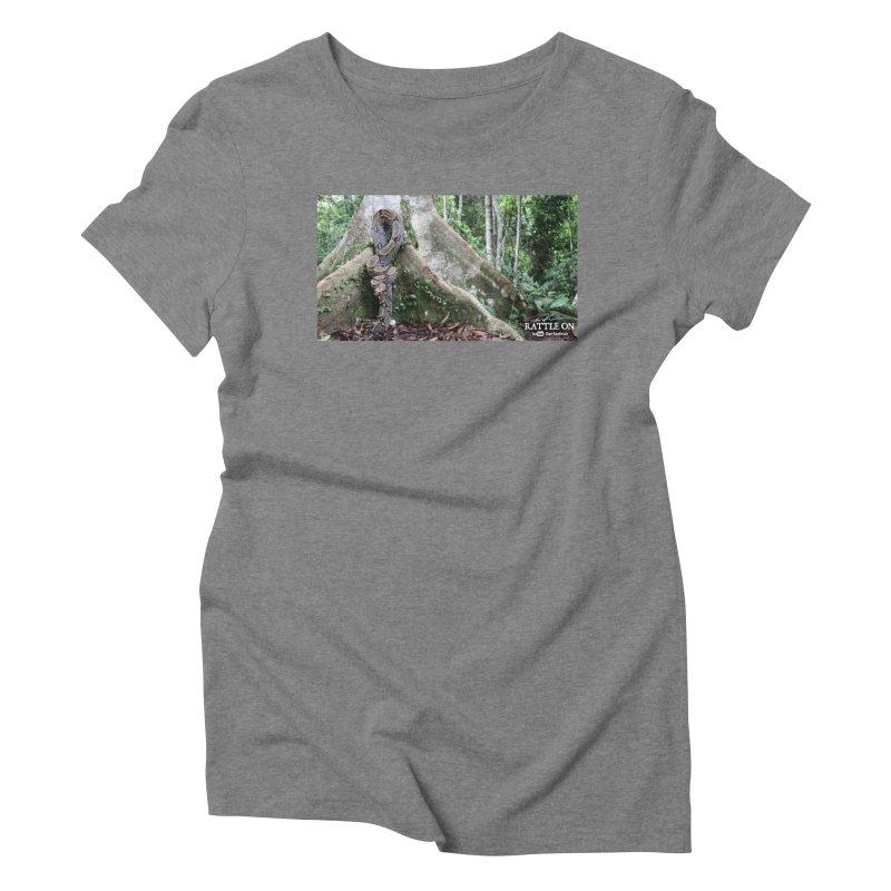 Peruvian Red-tailed Boa Women's Triblend T-Shirt by Dav Kaufman's Swag Shop!