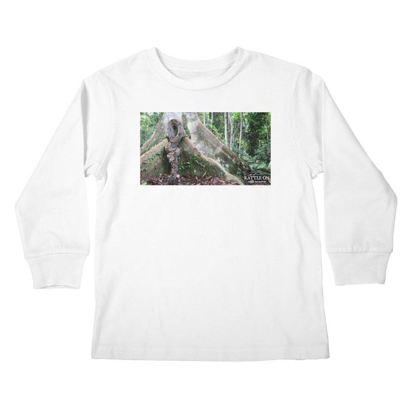 Peruvian Red-tailed Boa Kids Longsleeve T-Shirt by Dav Kaufman's Swag Shop!