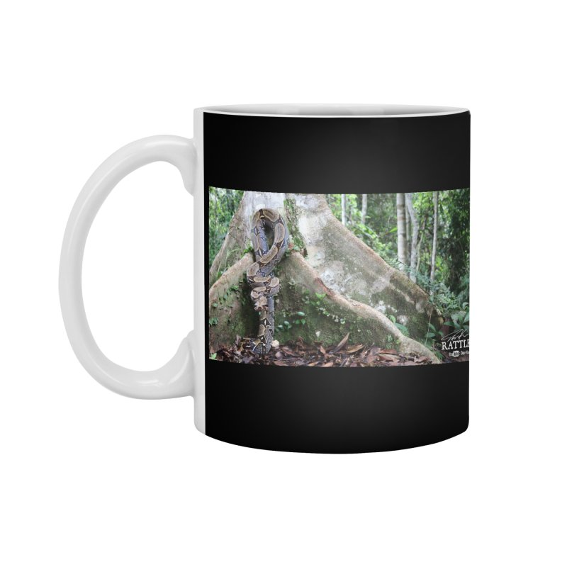 Peruvian Red-tailed Boa Accessories Standard Mug by Dav Kaufman's Swag Shop!