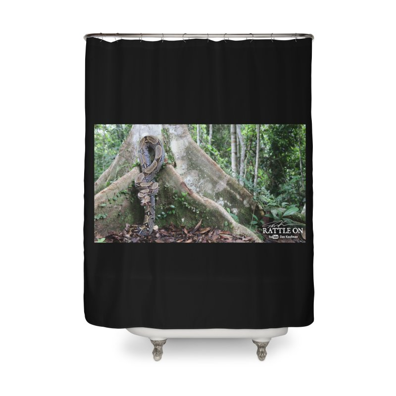 Peruvian Red-tailed Boa Home Shower Curtain by Dav Kaufman's Swag Shop!