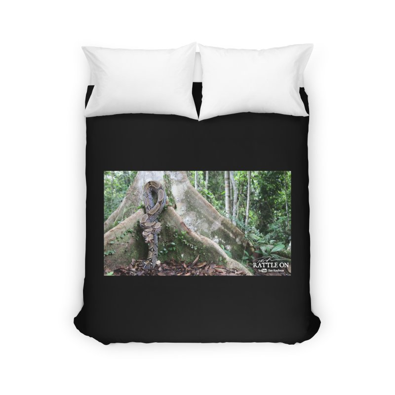 Peruvian Red-tailed Boa Home Duvet by Dav Kaufman's Swag Shop!