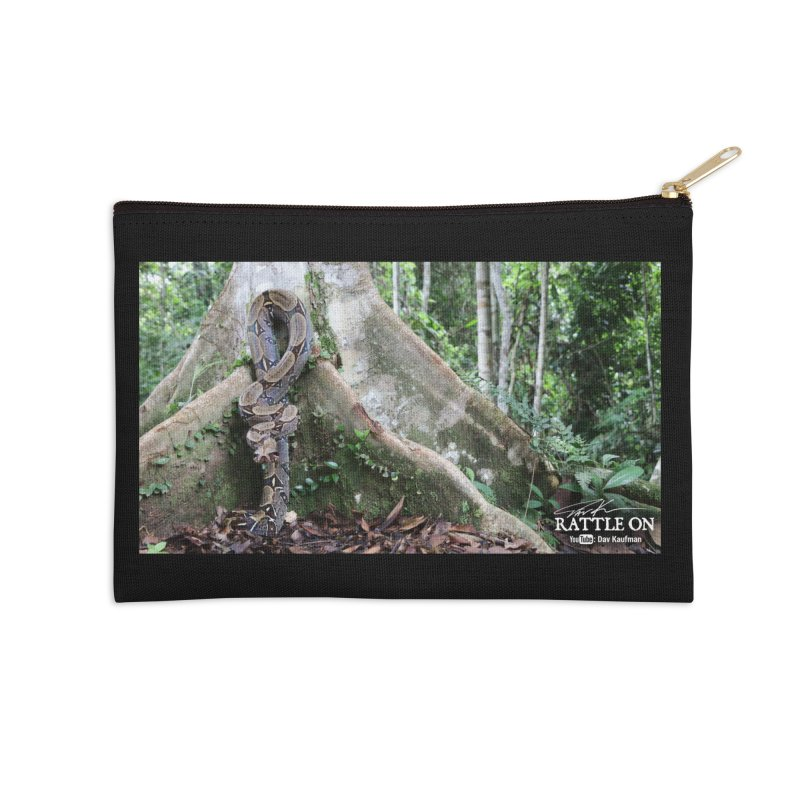 Peruvian Red-tailed Boa Accessories Zip Pouch by Dav Kaufman's Swag Shop!
