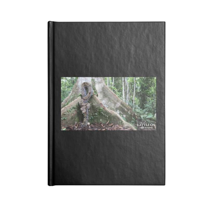 Peruvian Red-tailed Boa Accessories Lined Journal Notebook by Dav Kaufman's Swag Shop!