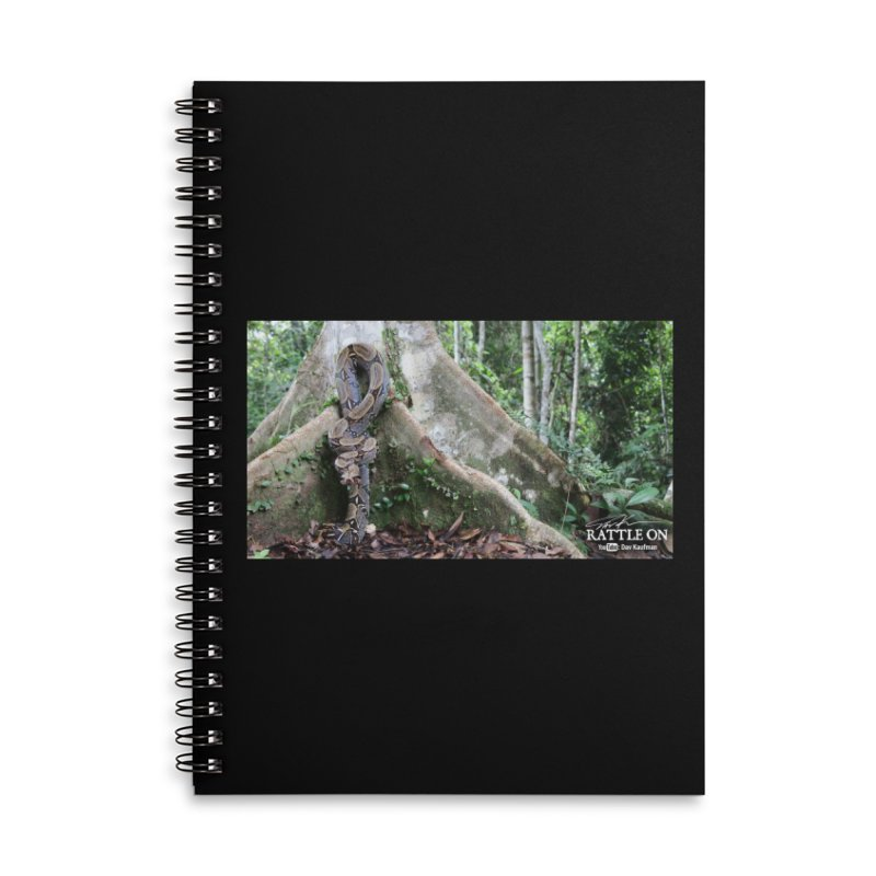 Peruvian Red-tailed Boa Accessories Lined Spiral Notebook by Dav Kaufman's Swag Shop!