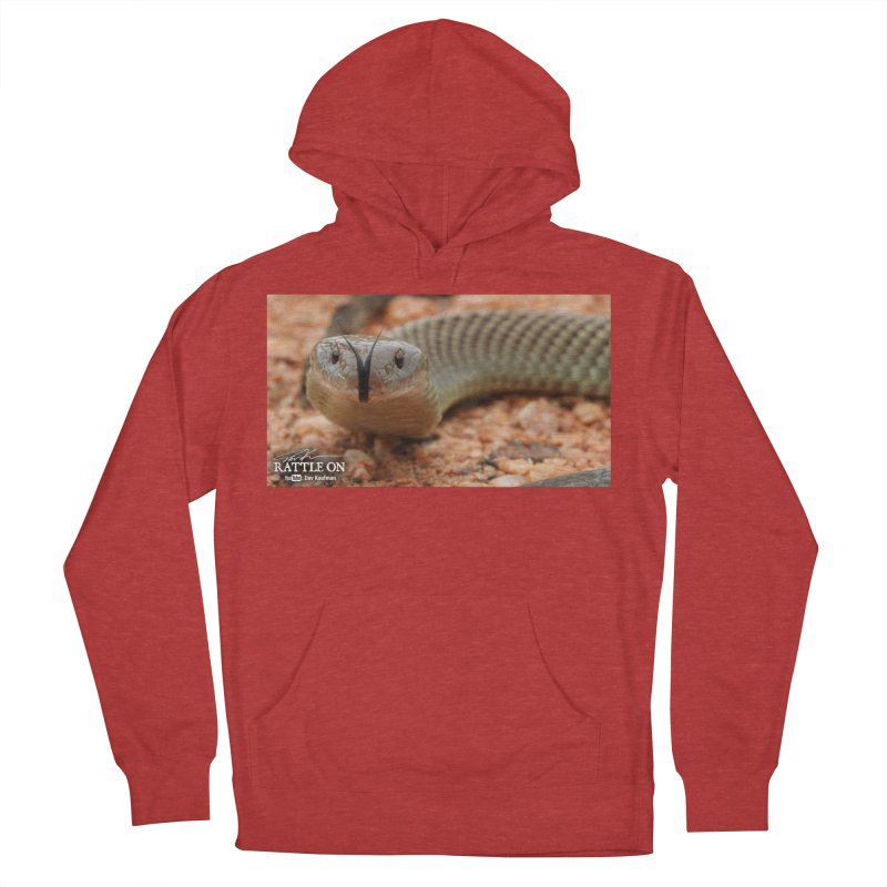 Mulga (King Brown Snake) Men's Pullover Hoody by Dav Kaufman's Swag Shop!