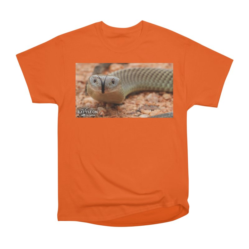 Mulga (King Brown Snake) Men's T-Shirt by Dav Kaufman's Swag Shop!