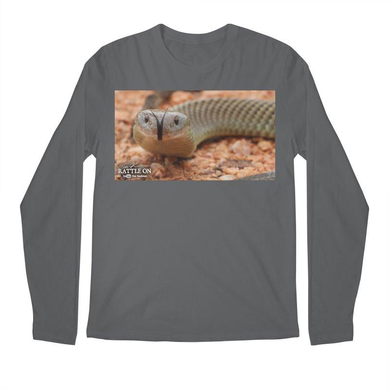 Mulga (King Brown Snake) Men's Longsleeve T-Shirt by Dav Kaufman's Swag Shop!