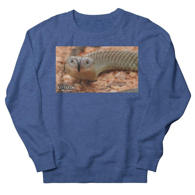 Mulga (King Brown Snake) Men's Sweatshirt by Dav Kaufman's Swag Shop!
