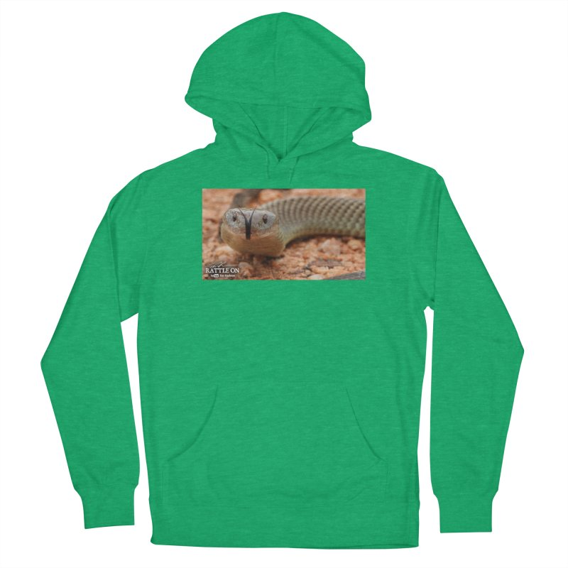 Mulga (King Brown Snake) Men's French Terry Pullover Hoody by Dav Kaufman's Swag Shop!