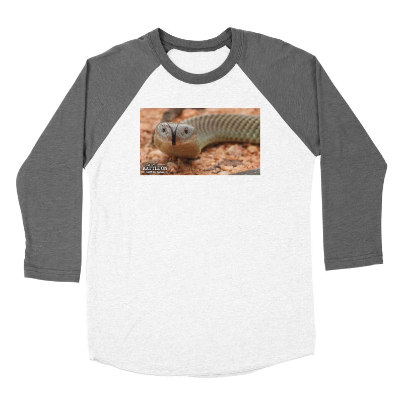 Mulga (King Brown Snake) Women's Longsleeve T-Shirt by Dav Kaufman's Swag Shop!