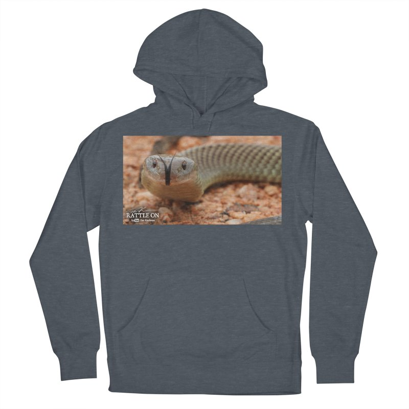 Mulga (King Brown Snake) Women's French Terry Pullover Hoody by Dav Kaufman's Swag Shop!