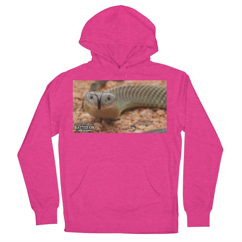 Mulga (King Brown Snake) Women's Pullover Hoody by Dav Kaufman's Swag Shop!