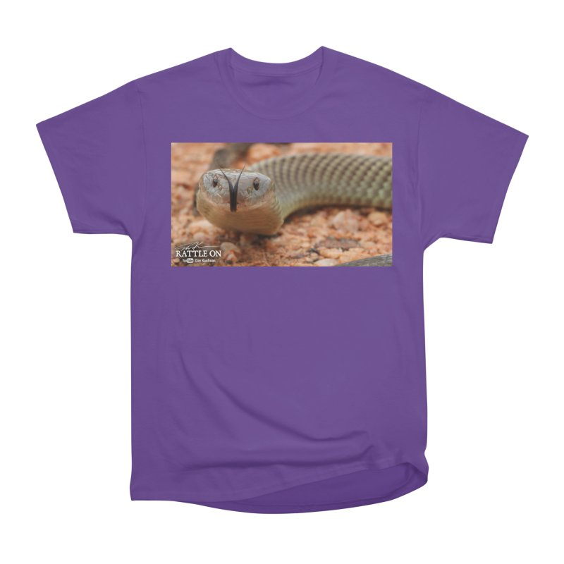 Mulga (King Brown Snake) Women's Heavyweight Unisex T-Shirt by Dav Kaufman's Swag Shop!