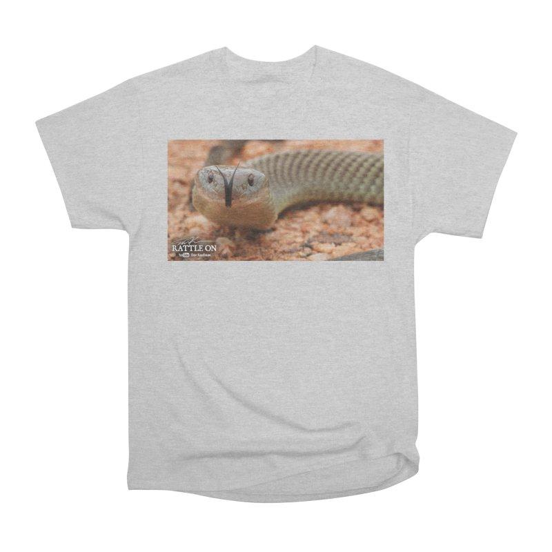 Mulga (King Brown Snake) Women's Heavyweight Unisex T-Shirt by Dav Kaufman's Swag Shop!