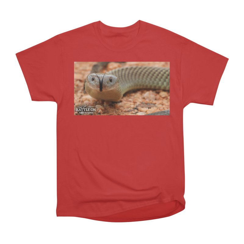 Mulga (King Brown Snake) Men's T-Shirt by Dav Kaufman's Swag Shop!