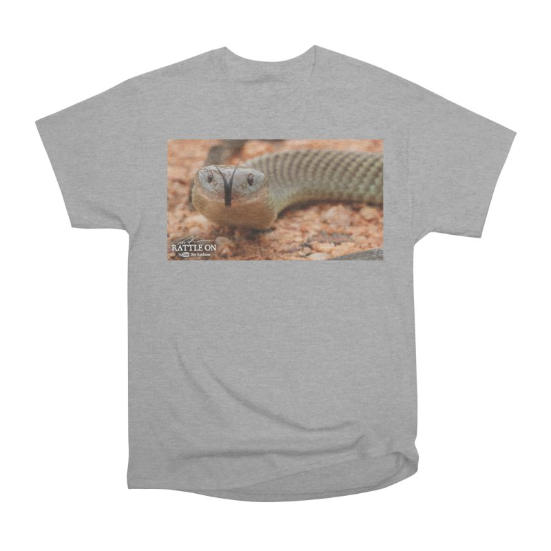 Mulga (King Brown Snake) Men's Heavyweight T-Shirt by Dav Kaufman's Swag Shop!