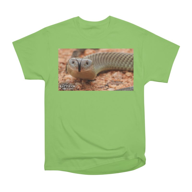 Mulga (King Brown Snake) Men's Heavyweight T-Shirt by Dav Kaufman's Swag Shop!