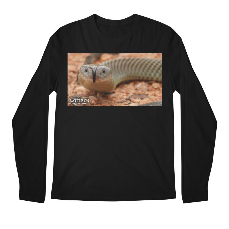 Mulga (King Brown Snake) Men's Regular Longsleeve T-Shirt by Dav Kaufman's Swag Shop!