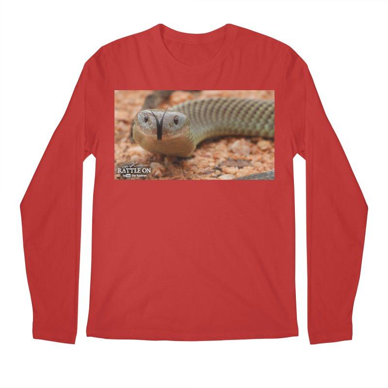Mulga (King Brown Snake) Men's Regular Longsleeve T-Shirt by Dav Kaufman's Swag Shop!