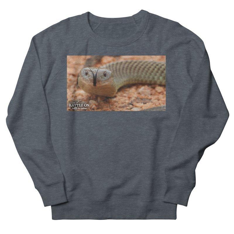 Mulga (King Brown Snake) Women's French Terry Sweatshirt by Dav Kaufman's Swag Shop!