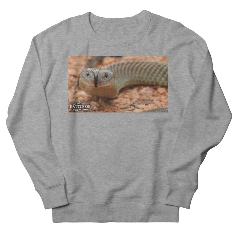 Mulga (King Brown Snake) Men's Sweatshirt by Dav Kaufman's Swag Shop!