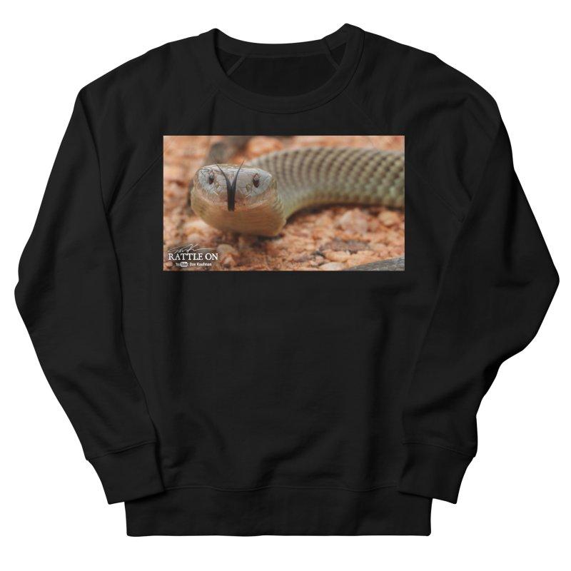 Mulga (King Brown Snake) Men's French Terry Sweatshirt by Dav Kaufman's Swag Shop!