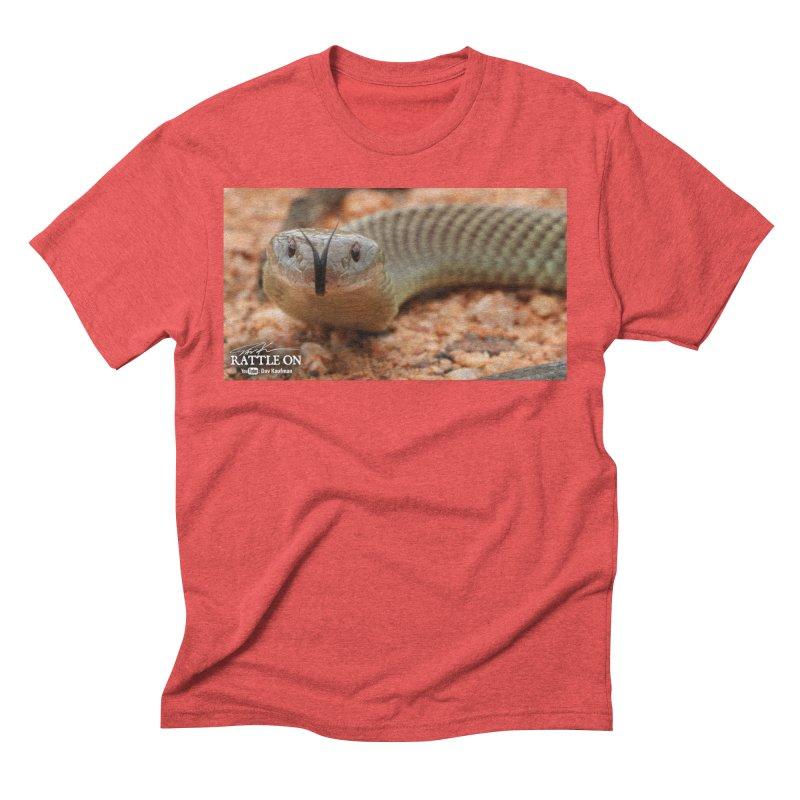 Mulga (King Brown Snake) Men's Triblend T-Shirt by Dav Kaufman's Swag Shop!