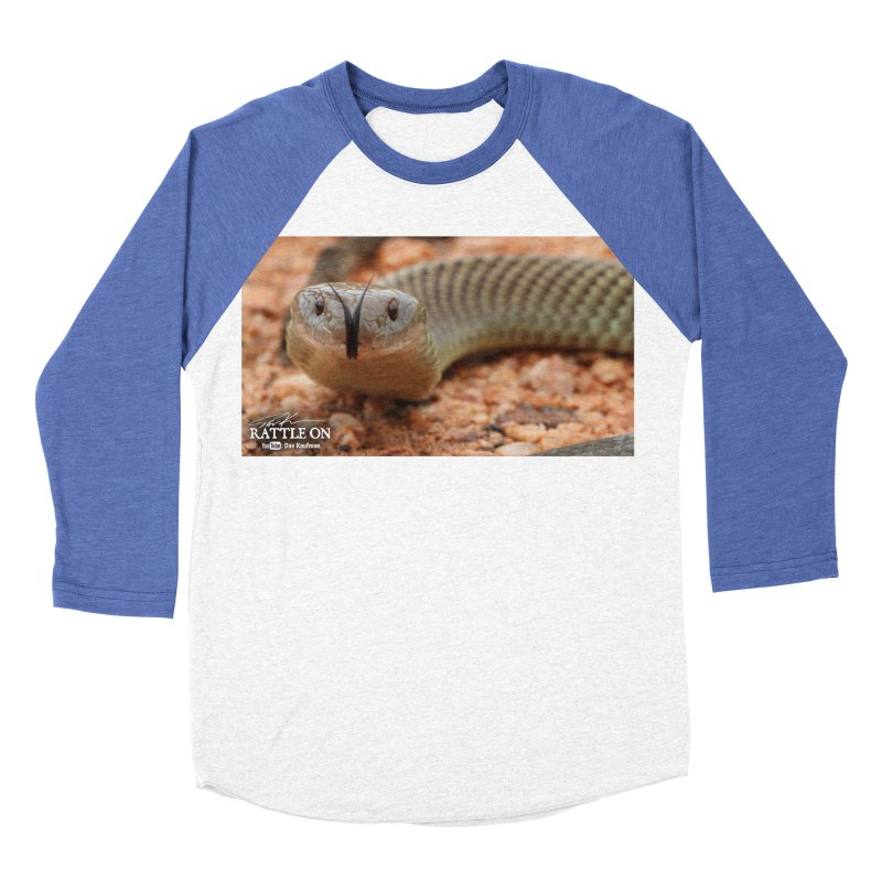 Mulga (King Brown Snake) Women's Baseball Triblend Longsleeve T-Shirt by Dav Kaufman's Swag Shop!