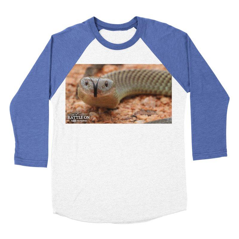 Mulga (King Brown Snake) Men's Baseball Triblend Longsleeve T-Shirt by Dav Kaufman's Swag Shop!