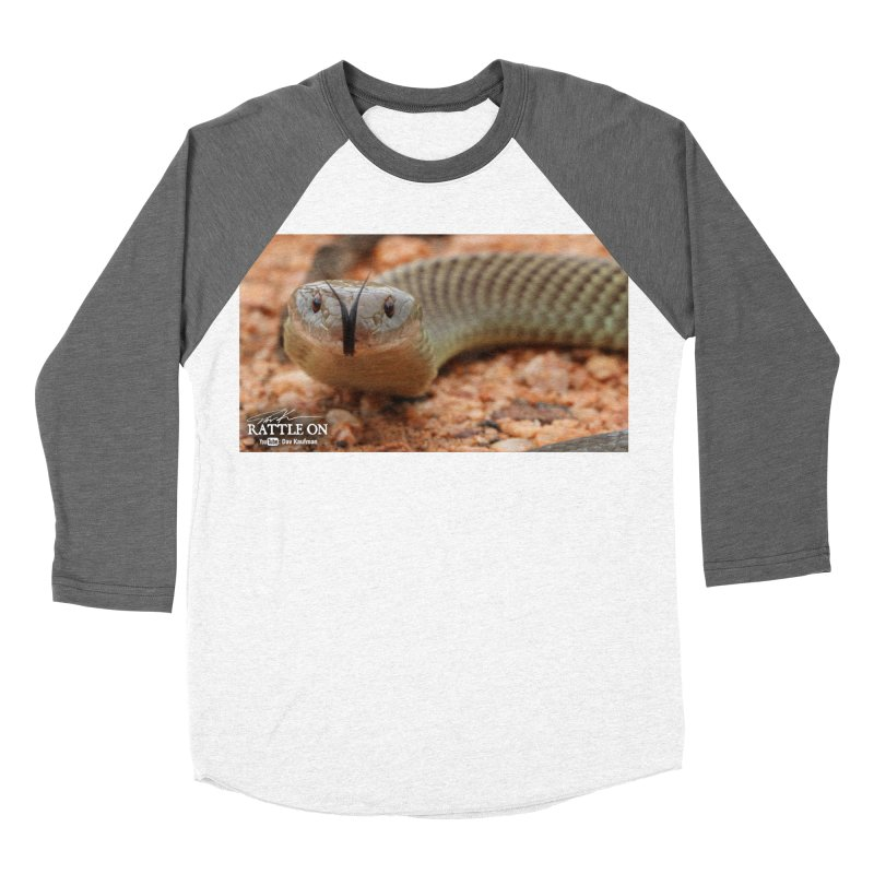 Mulga (King Brown Snake) Men's Baseball Triblend Longsleeve T-Shirt by Dav Kaufman's Swag Shop!