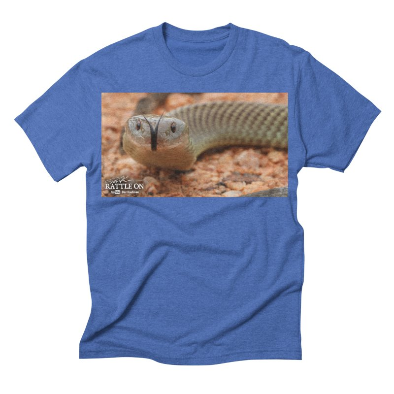 Mulga (King Brown Snake) Men's Triblend T-shirt by Dav Kaufman's Swag Shop!