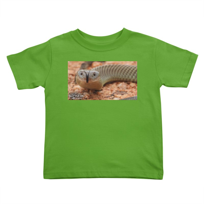 Mulga (King Brown Snake) Kids Toddler T-Shirt by Dav Kaufman's Swag Shop!