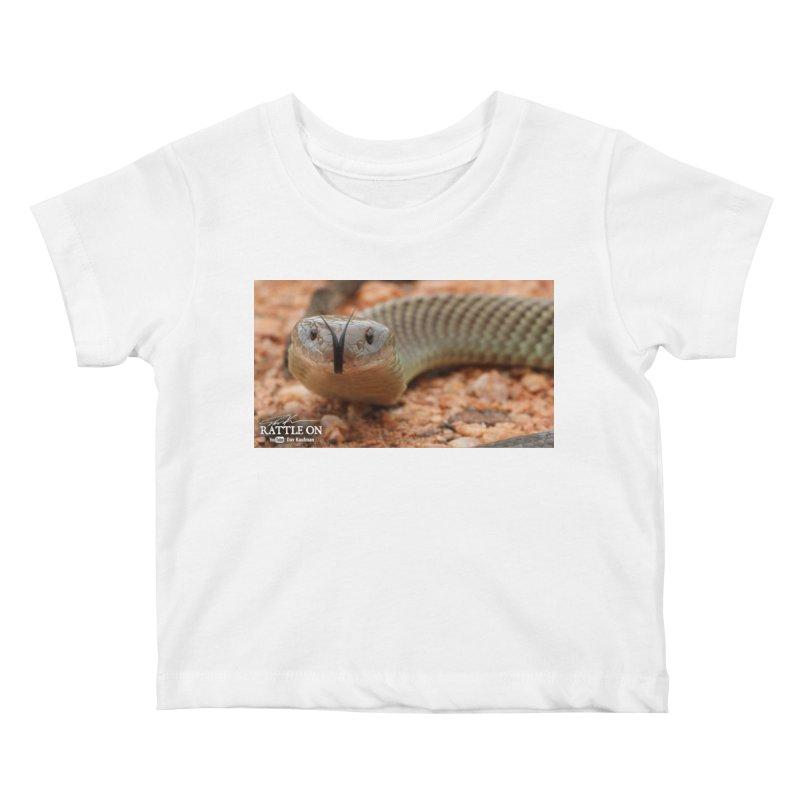 Mulga (King Brown Snake) Kids Baby T-Shirt by Dav Kaufman's Swag Shop!