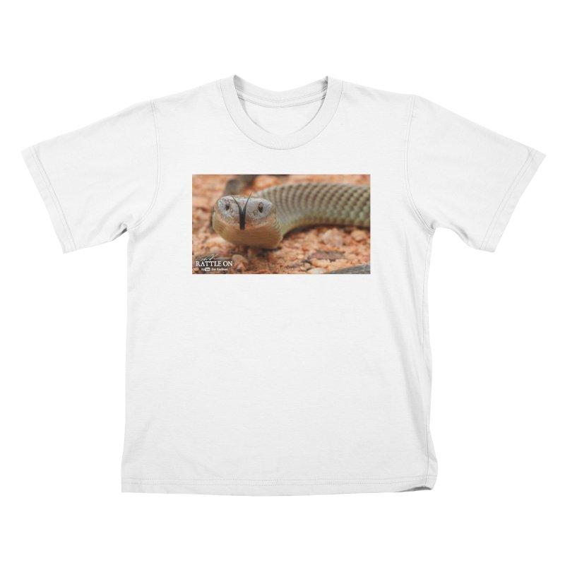 Mulga (King Brown Snake) Kids T-Shirt by Dav Kaufman's Swag Shop!