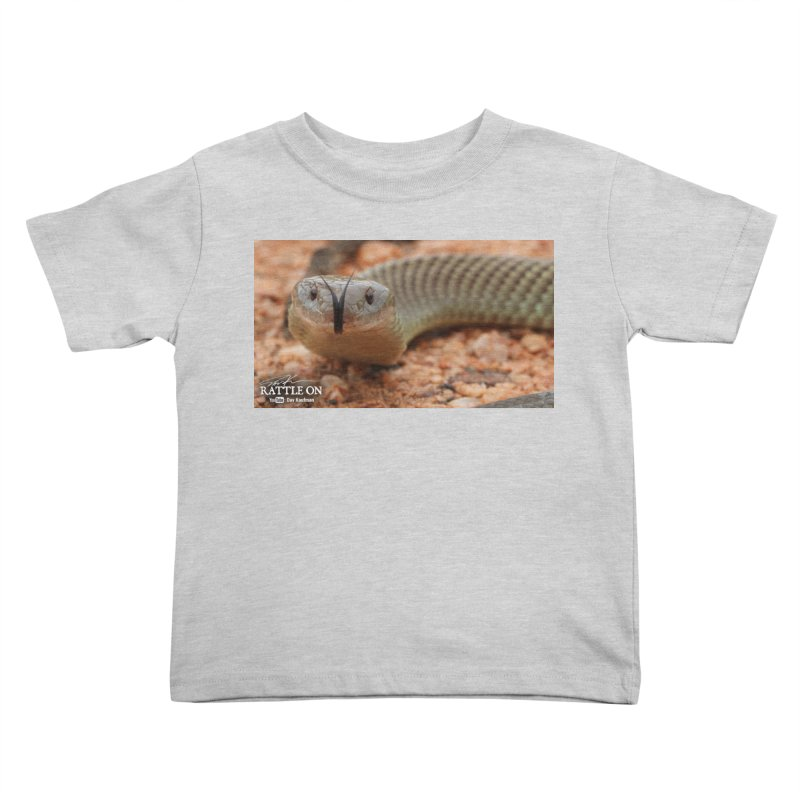 Mulga (King Brown Snake) Kids Toddler T-Shirt by Dav Kaufman's Swag Shop!