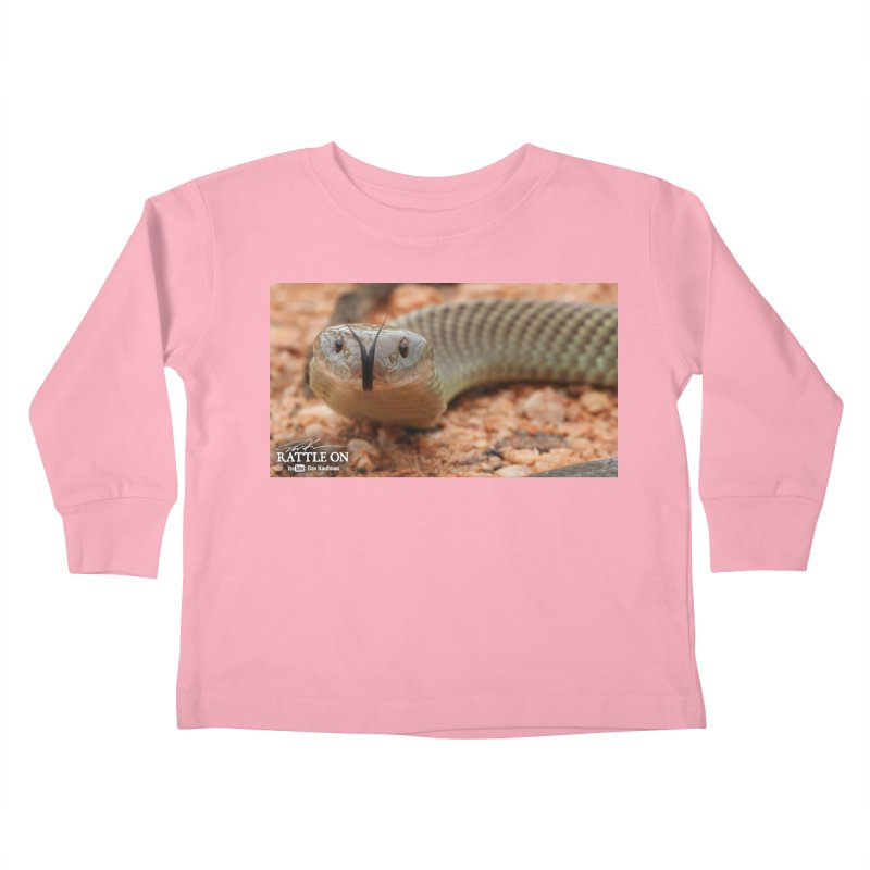 Mulga (King Brown Snake) Kids Toddler Longsleeve T-Shirt by Dav Kaufman's Swag Shop!