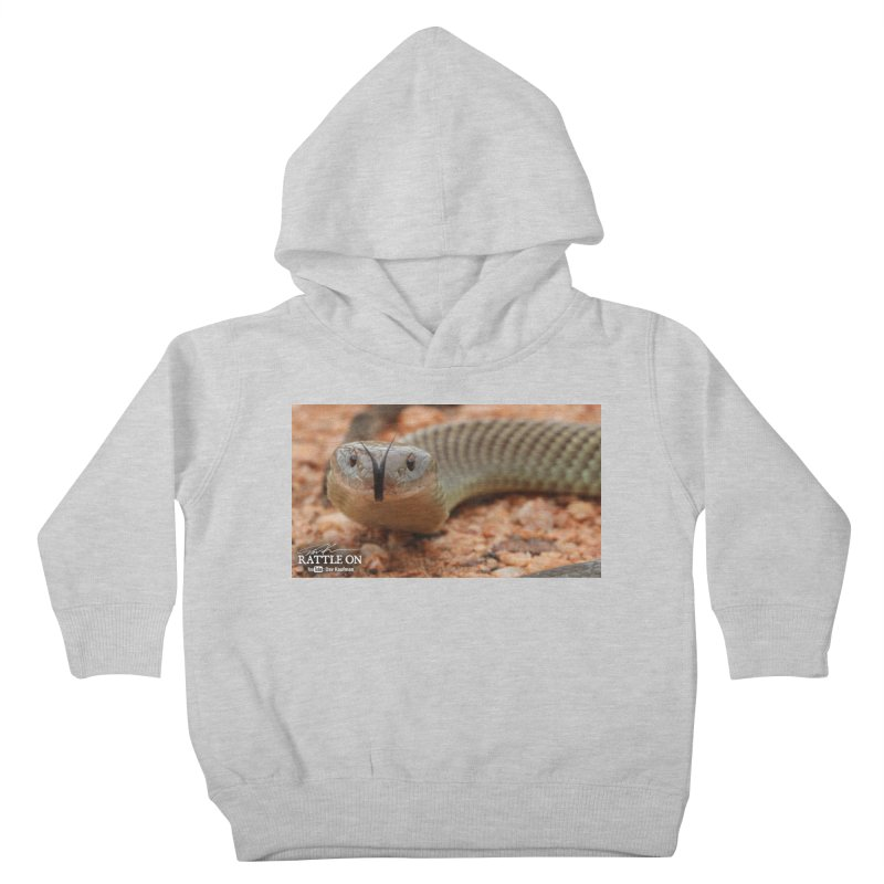 Mulga (King Brown Snake) Kids Toddler Pullover Hoody by Dav Kaufman's Swag Shop!