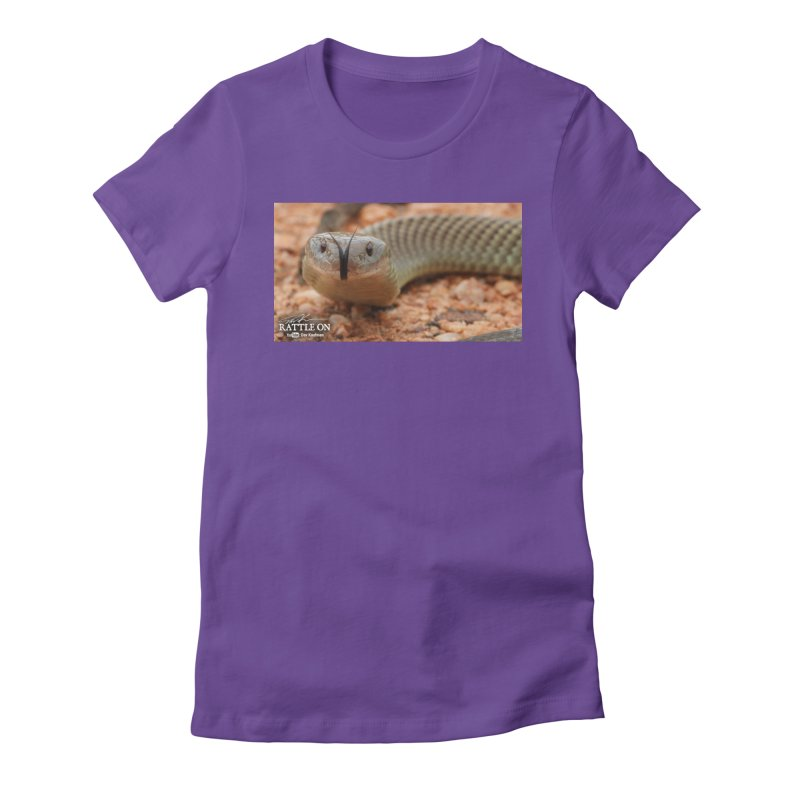 Mulga (King Brown Snake) Women's T-Shirt by Dav Kaufman's Swag Shop!