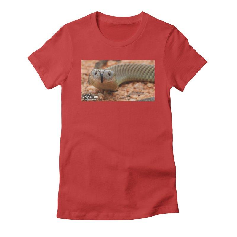 Mulga (King Brown Snake) Women's T-Shirt by Dav Kaufman's Swag Shop!