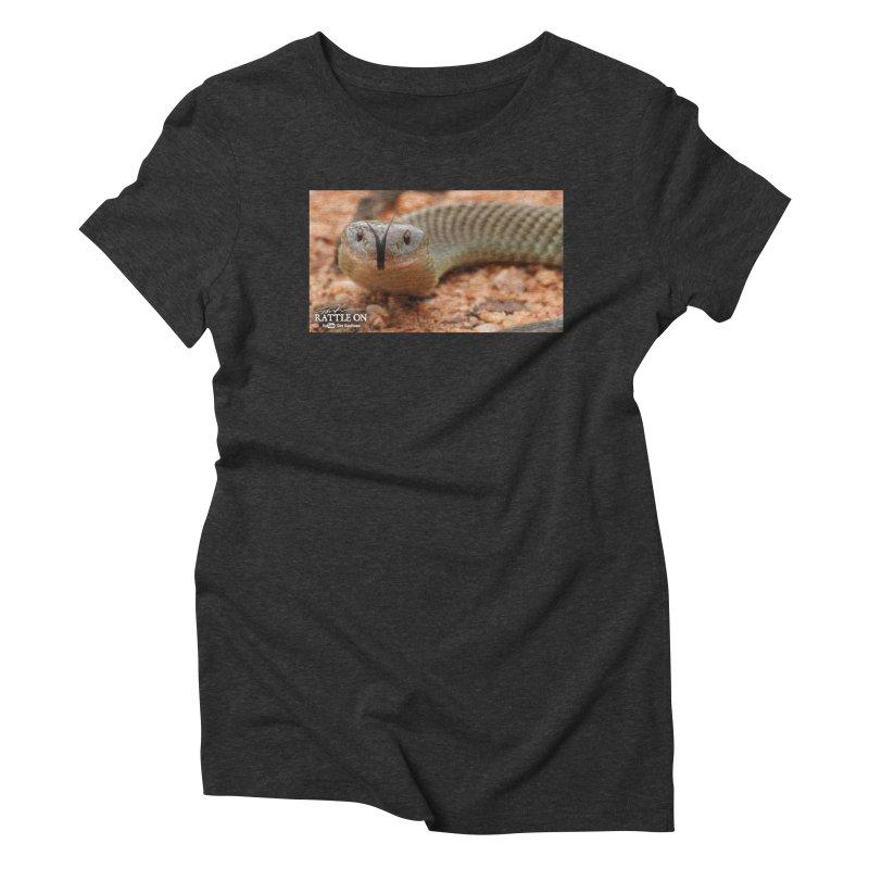 Mulga (King Brown Snake) Women's Triblend T-Shirt by Dav Kaufman's Swag Shop!