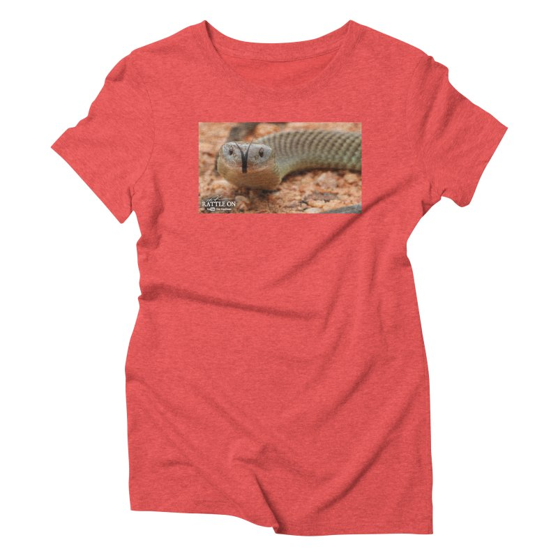 Mulga (King Brown Snake) Women's Triblend T-Shirt by Dav Kaufman's Swag Shop!