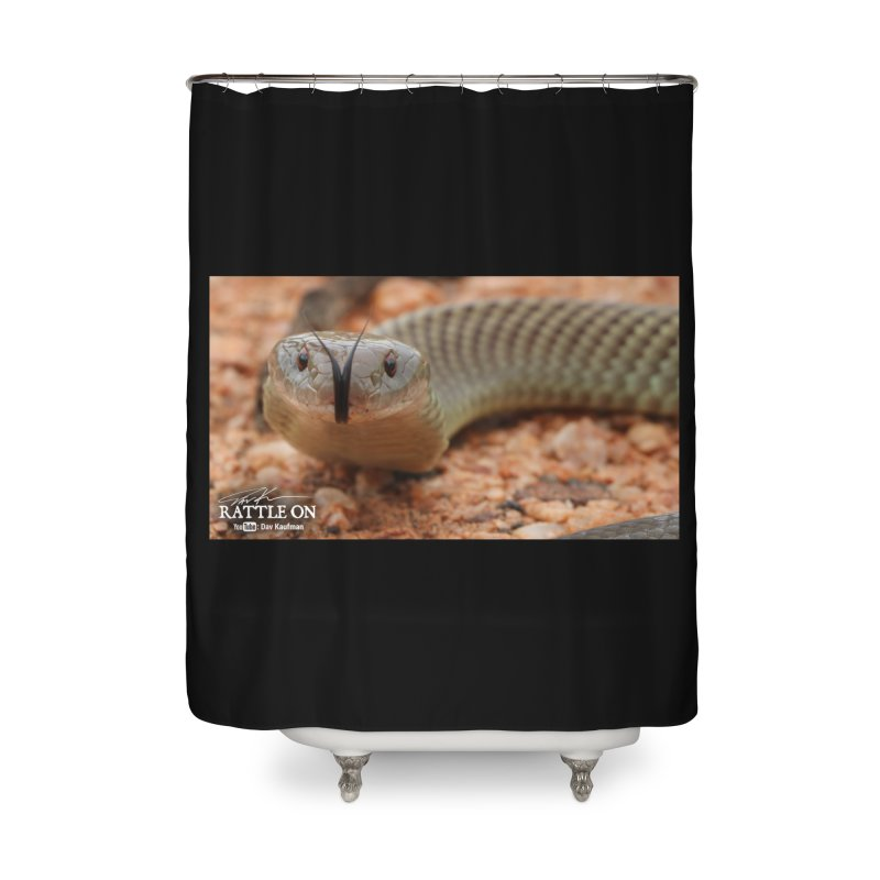 Mulga (King Brown Snake) Home Shower Curtain by Dav Kaufman's Swag Shop!