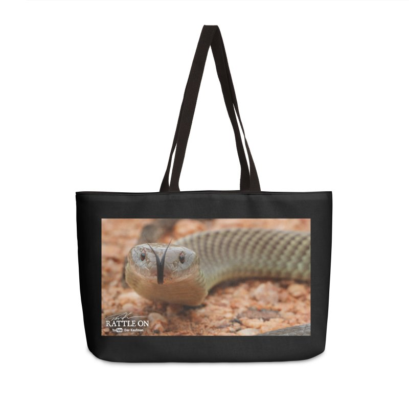 Mulga (King Brown Snake) Accessories Weekender Bag Bag by Dav Kaufman's Swag Shop!