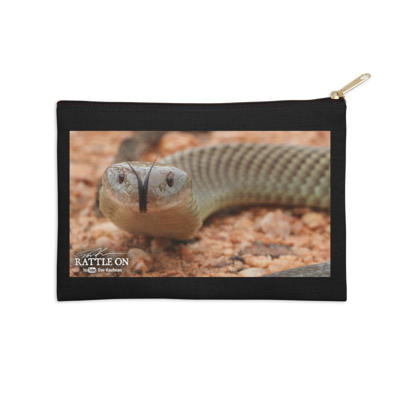 Mulga (King Brown Snake) Accessories Zip Pouch by Dav Kaufman's Swag Shop!