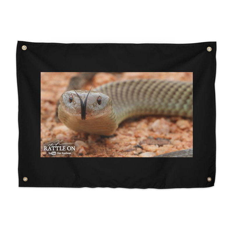 Mulga (King Brown Snake) Home Tapestry by Dav Kaufman's Swag Shop!