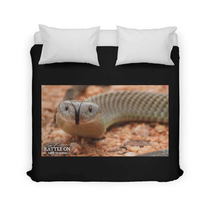 Mulga (King Brown Snake) Home Duvet by Dav Kaufman's Swag Shop!