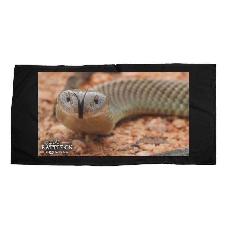 Mulga (King Brown Snake) Accessories Beach Towel by Dav Kaufman's Swag Shop!
