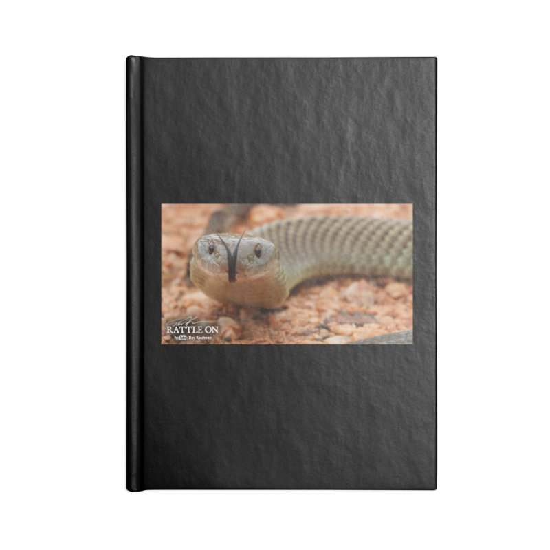 Mulga (King Brown Snake) Accessories Lined Journal Notebook by Dav Kaufman's Swag Shop!