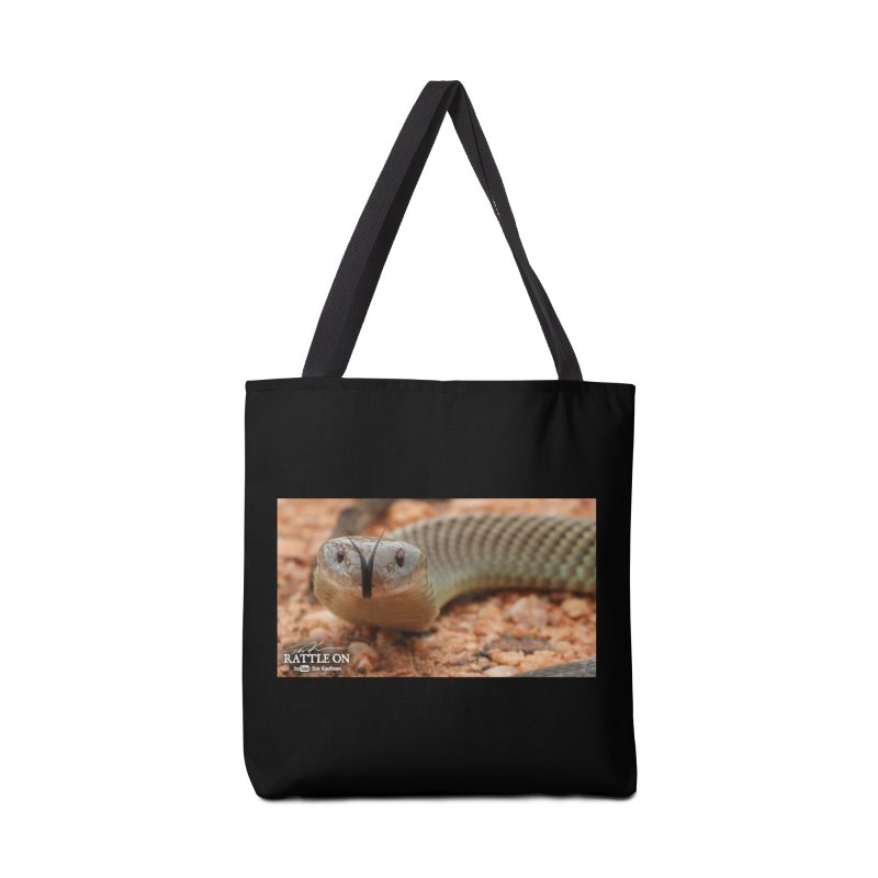 Mulga (King Brown Snake) Accessories Bag by Dav Kaufman's Swag Shop!