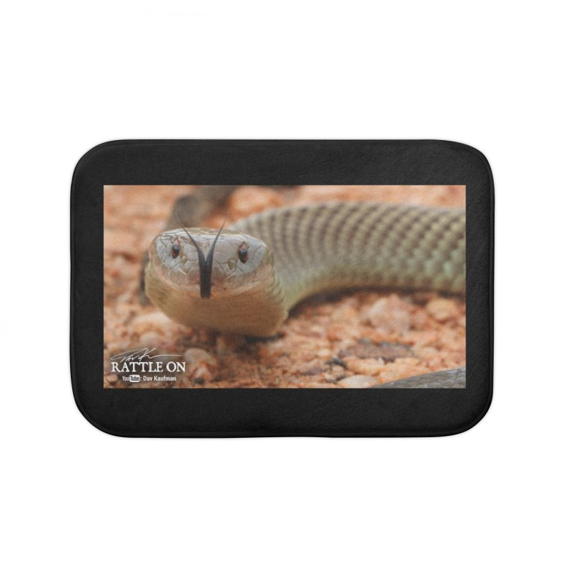 Mulga (King Brown Snake) Home Bath Mat by Dav Kaufman's Swag Shop!